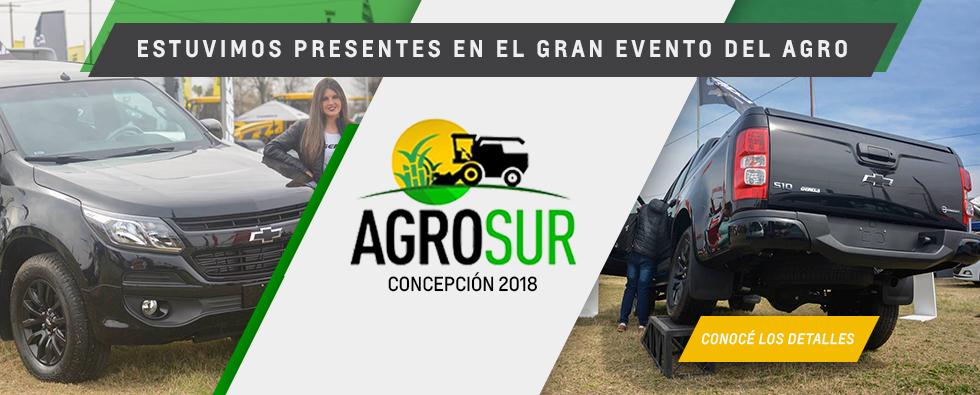 Chevrolet en la AgroSur Concepción 2018
