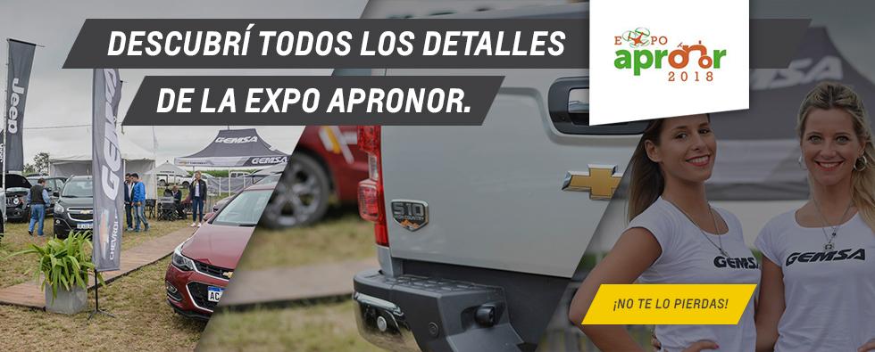 EXPO Apronor 2018 Chevrolet Gemsa