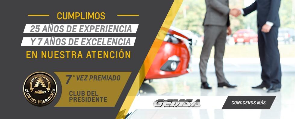Club del Presidente Gemsa Concesionario Oficial Chevrolet