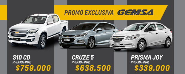 Promo exclusiva Gemsa