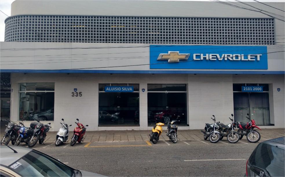Fachada concessionária Chevrolet Aluisio Silva