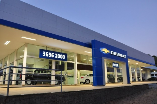 Fachada concessionária Chevrolet Lider