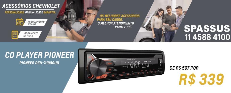 Spassus - Site PV Acessorios Julho CD Player