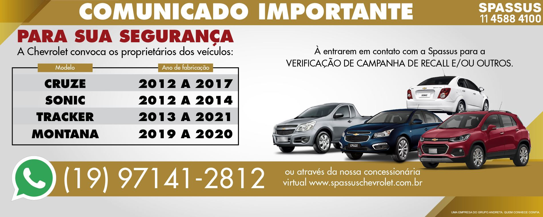 Spassus - Digitais Recall (Home Cruze)