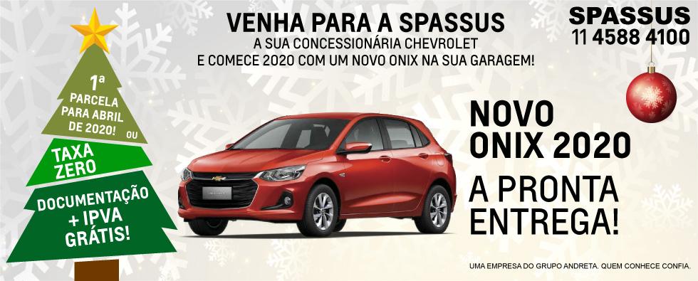 Spassus - Digitais Natal (Home Novo Onix)