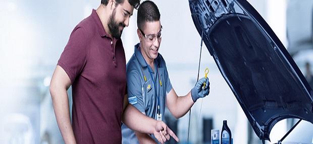 Serviços revisão, manutenção e reparo de veículos concessionária Chevrolet Zaher.