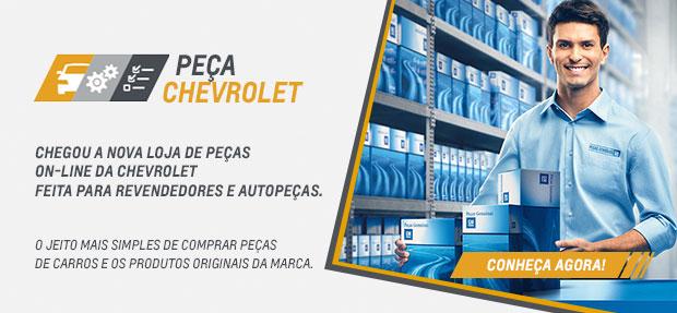Carro com o Seguro Auto concessionária Chevrolet Novo Rio