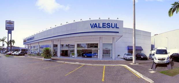 Fachada concessionária Chevrolet Valesul Paranaguá