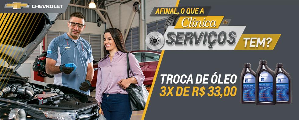 Serviços Chevrolet
