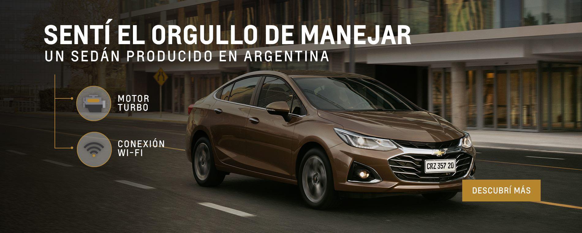 Chevrolet Cruze 0km en concesionario oficial Chevrolet de Villa del Parque, Villa Devoto, Agronomía y Ciudadela