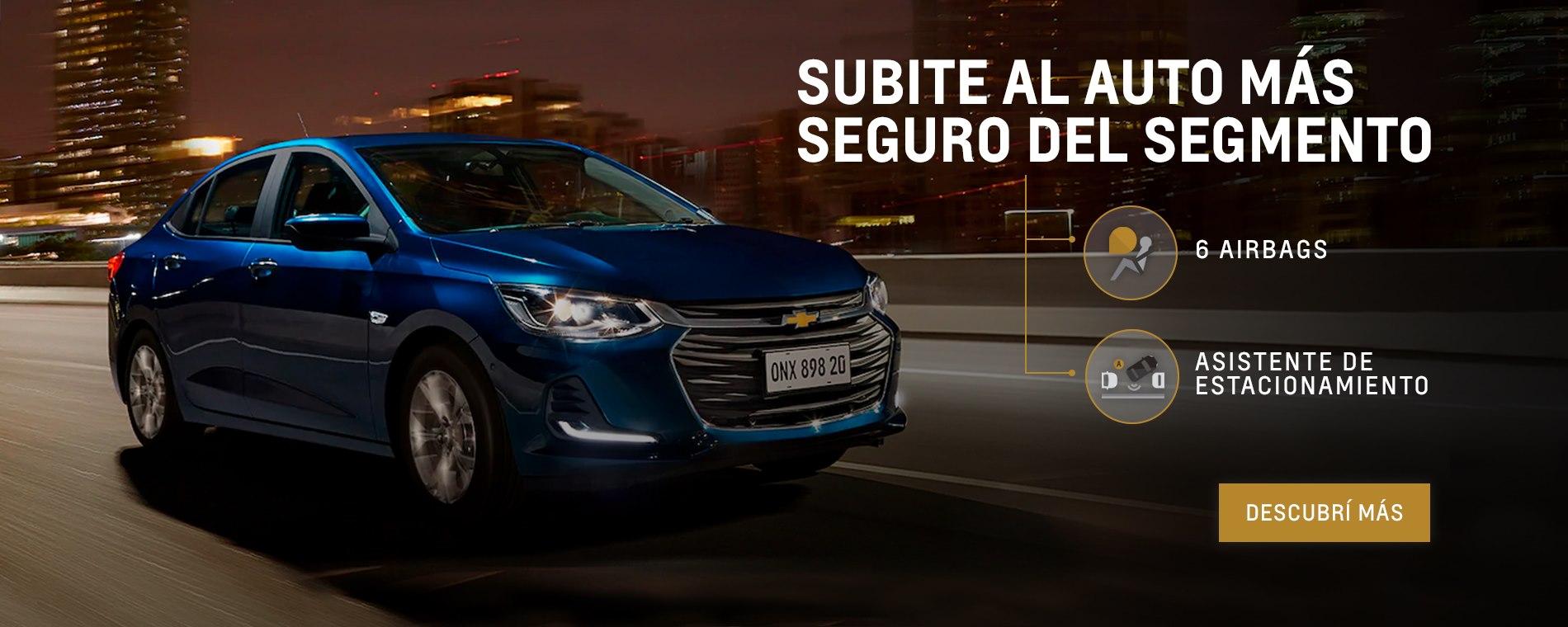 Chevrolet Onix Plus  0km en concesionario oficial Chevrolet de Villa del Parque, Villa Devoto, Agronomía y Ciudadela