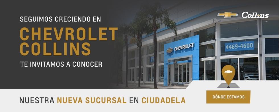 Nuevo Concesionario Oficial Chevrolet Collins en Ciudadela