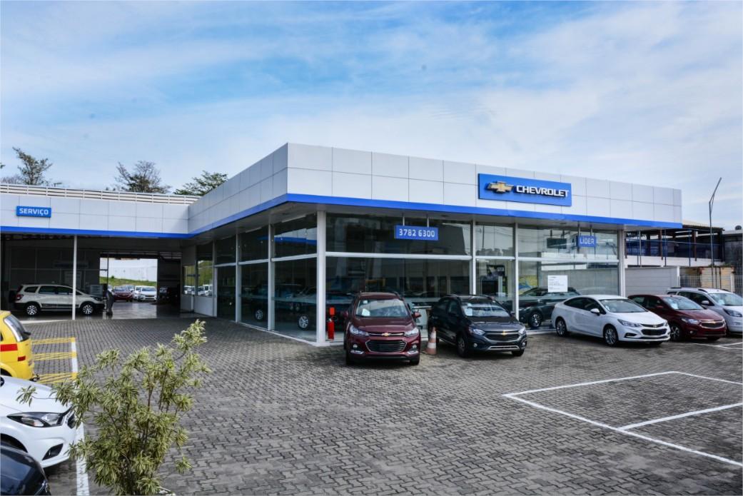 Fachada concessionária Chevrolet Itaguaí
