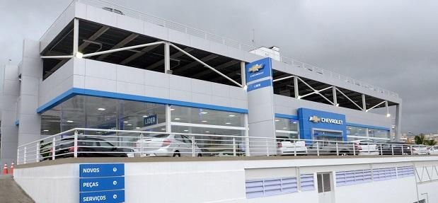 Fachada concessionária Chevrolet Recreio dos Bandeirantes - RJ