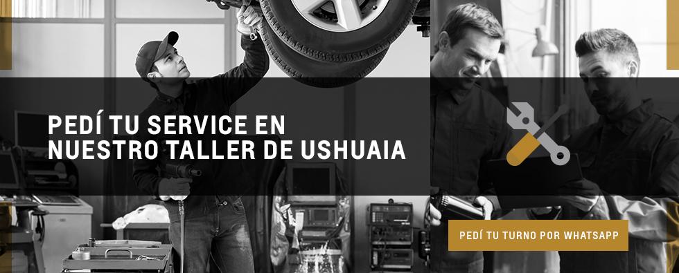 Agendar turno en taller Chevrolet de Ushuaia