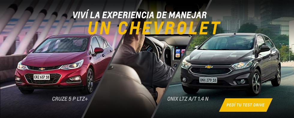Test Drive de Chevrolet en Comercial Del Sur