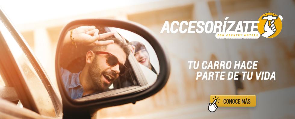 Accesorizate con Chevrolet Country Motors