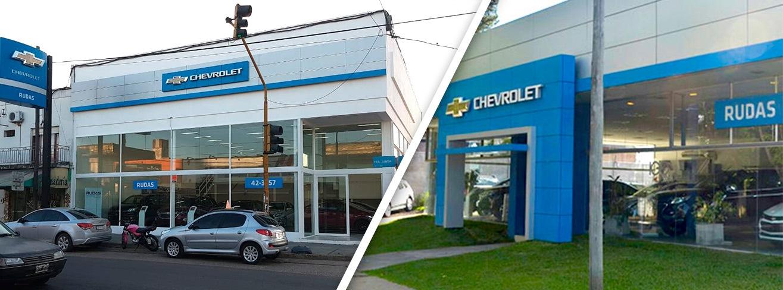 Chevrolet Rudas Sucursales