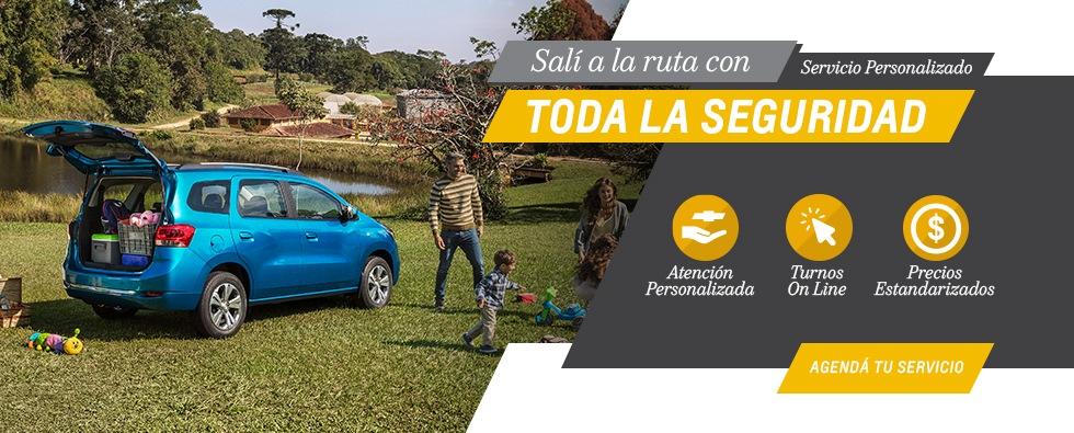 Servicios Chevrolet Postventa en Del Sur Autos
