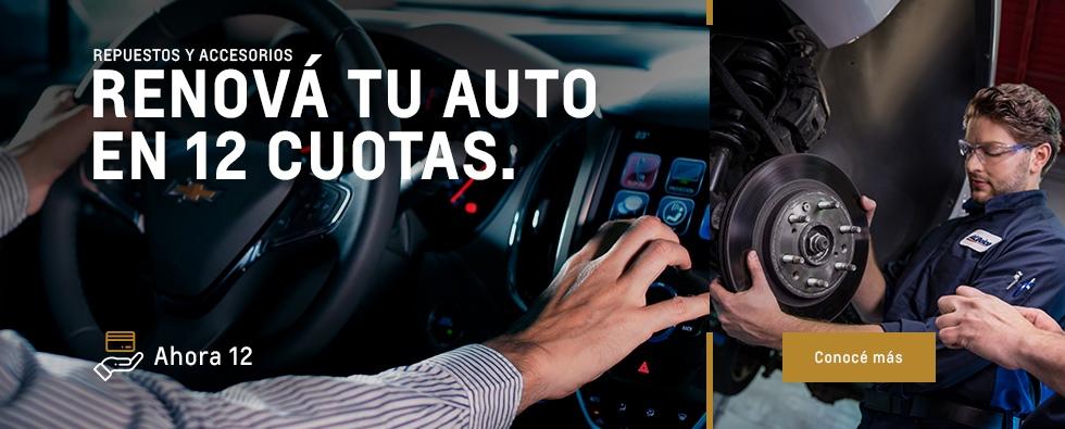 Ahora 12 en Respuestos y Accesorios en Chevrolet Del Sur