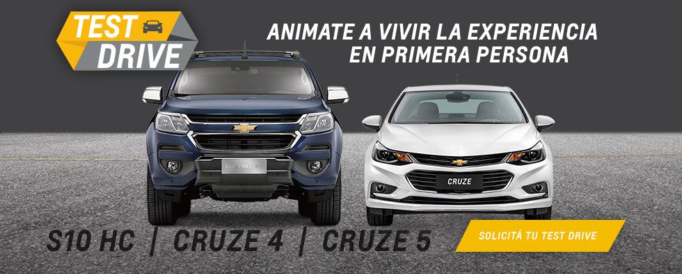 Chevrolet Test Drive en Del Sur Autos