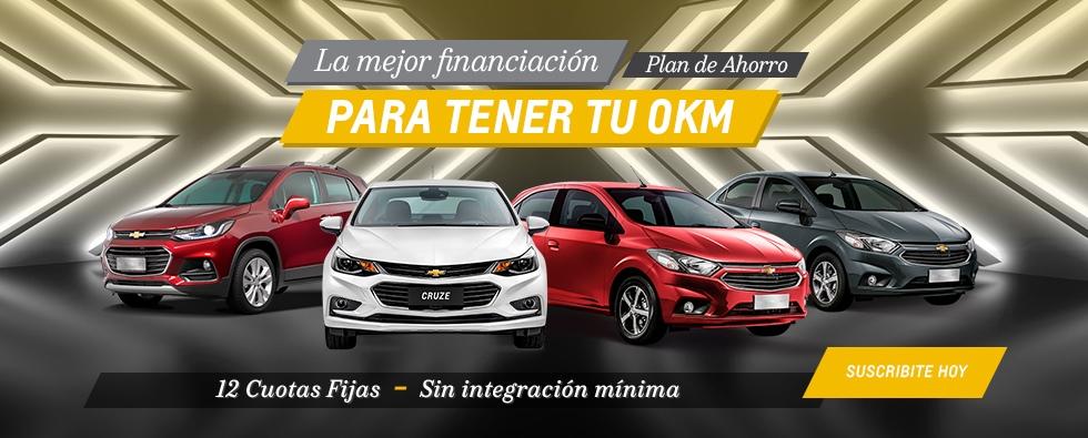 Plan Chevrolet Cuota Fija 2019 en Del Sur Autos