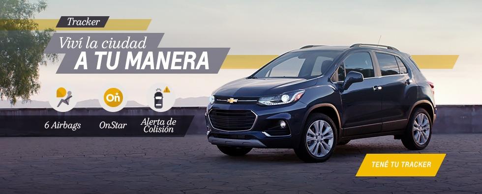 Chevrolet Tracker en Del Sur Autos