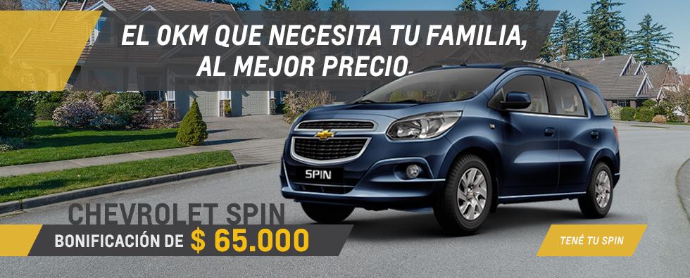 Oferta de Chevrolet Spin en Del Sur Autos
