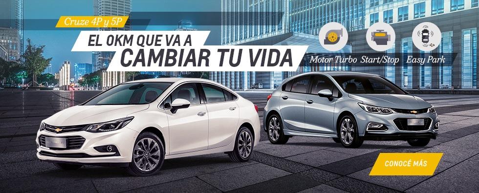 Chevrolet Cruze y Cruze 5 en Del Sur Autos