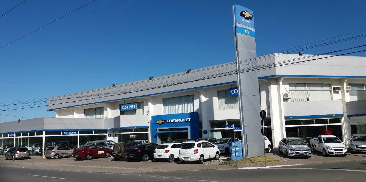 Conheça a fachada da concessionária CCV Catarinense Praia Brava.