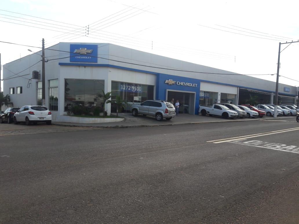 Fachada concessionária Chevrolet Presidente Venceslau