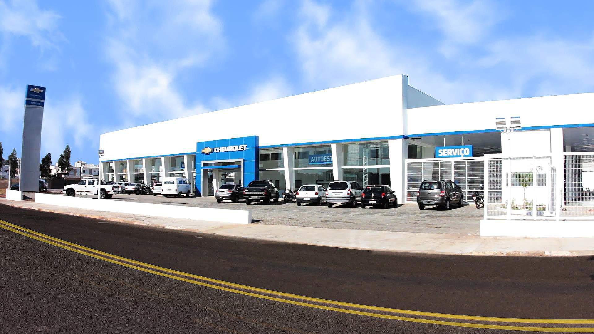 Fachada concessionária Chevrolet Autoeste