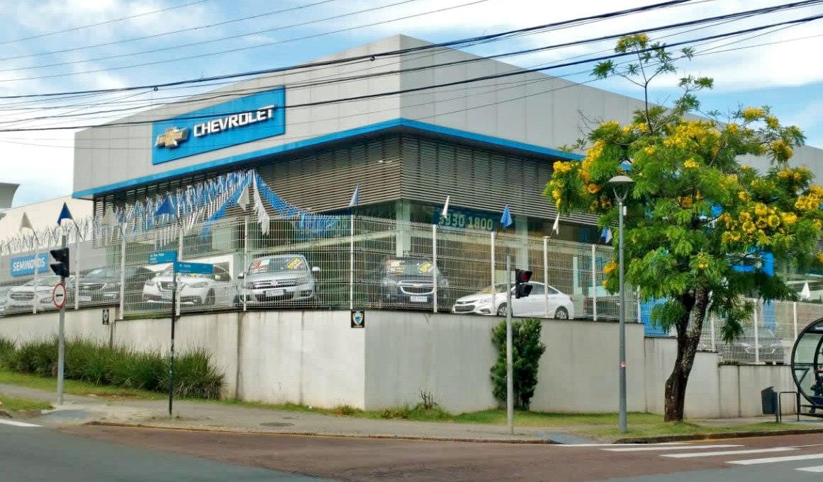 Fachada concessionária Chevrolet Metrosul Bom Retiro