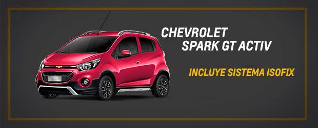 Es momento de adquirir tu Chevrolet Spark GT Activ