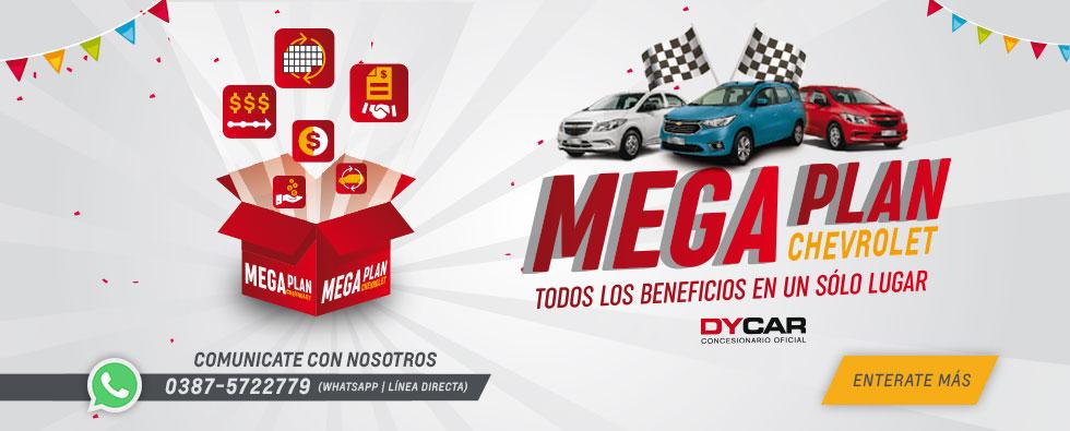 Mega Plan Chevrolet en DyCar