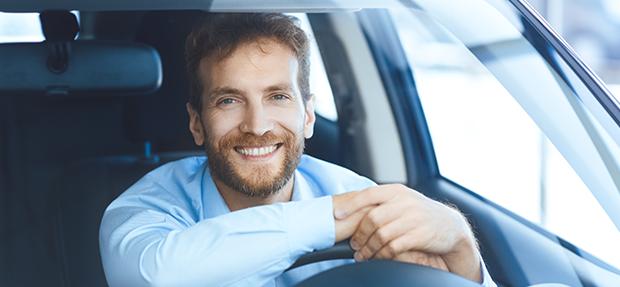 Carro com o Seguro Auto concessionária Chevrolet Vita