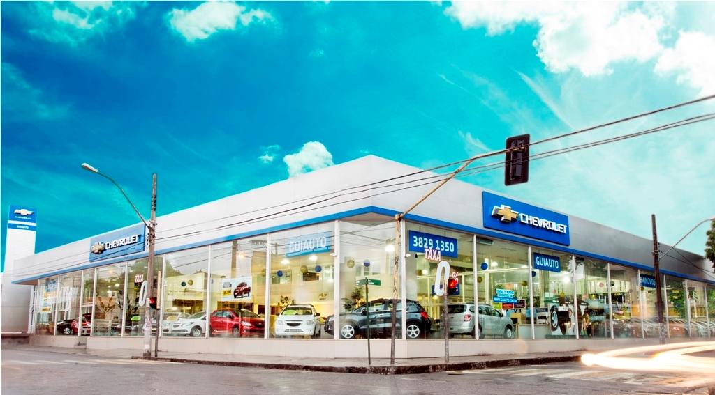 Fachada concessionária Chevrolet Guiauto Ipatinga