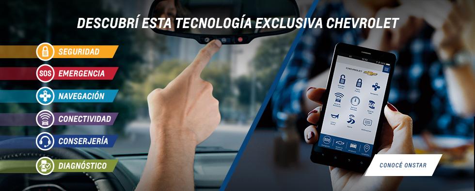 Tecnología OnStar de Chevrolet en Lider Automotores