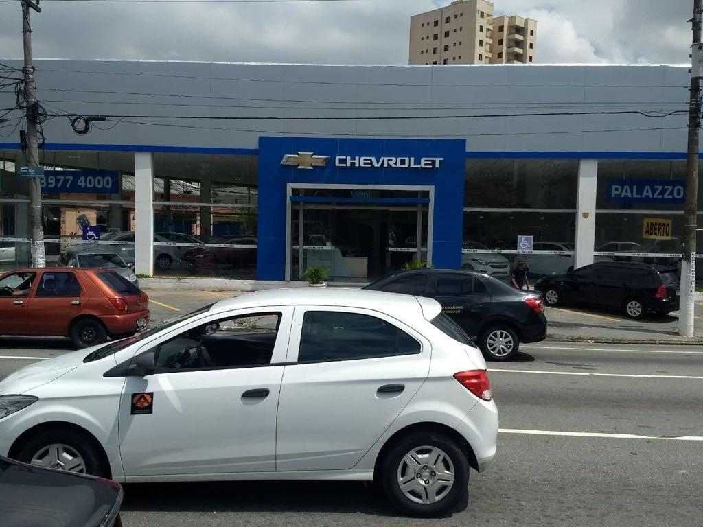 Fachada concessionária Chevrolet Palazzo Água Branca.