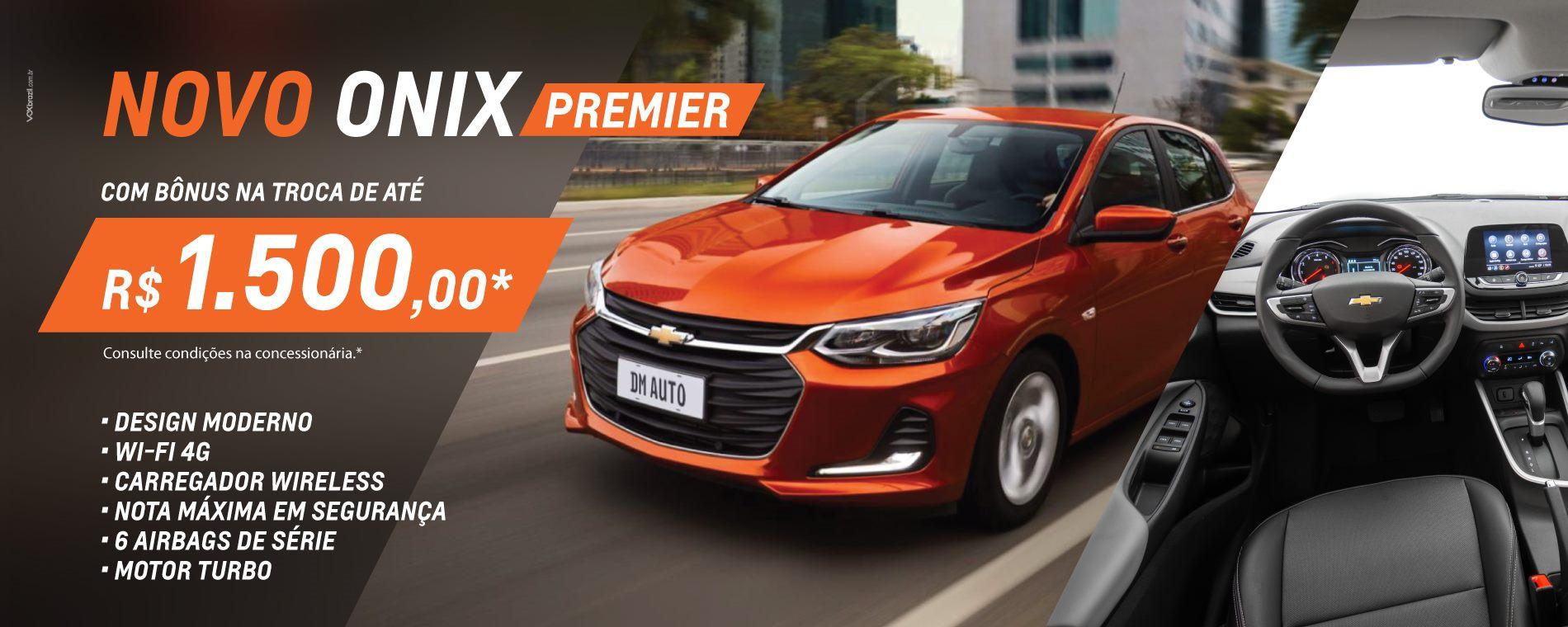 DM Auto - Banners site Onix - Premier