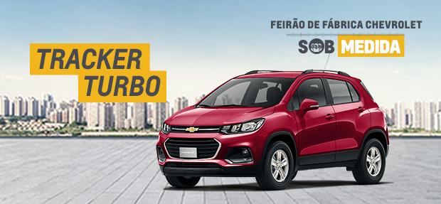 Feirao de Fabrica Chevrolet, com ofertas SOB MEDIDA para voce_Tracker