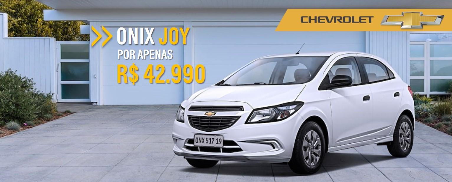 Feirao de Fabrica Chevrolet - ONIX JOY por aprenas R$ 42.990