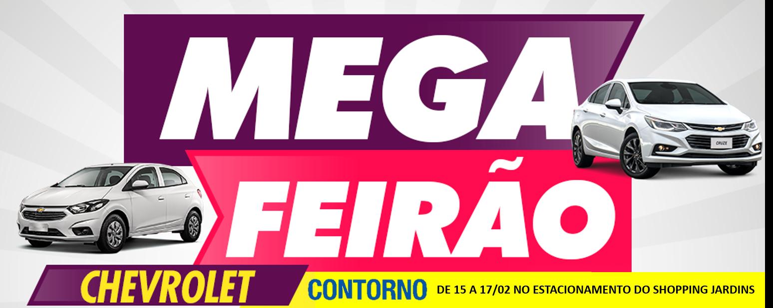 Mega Feirão Chevrolet de Carros - Contorno Veículos Aracaju