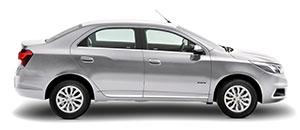 NOVO COBALT ! O sedan compacto mais funcional do mercado acabou de virar premium, para mostrar que você pode satisfazer seus desejos sem deixar de lado tudo aquilo que a sua família precisa. Descubra a sensação de aliar design arrojado, interior espaçoso, segurança e uma tecnologia inigualável. Conheça agora o novo Cobalt, o sedan que você merece.