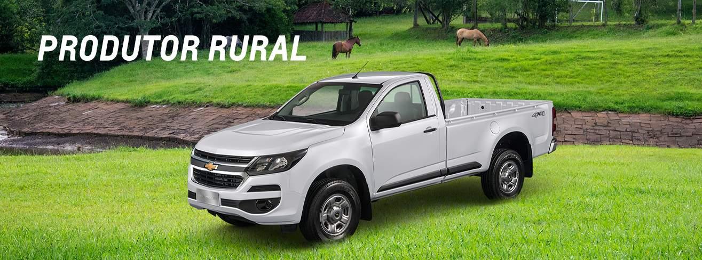 Comprar carros com descontos para Produtor Rural por vendas diretas na Chevrolet
