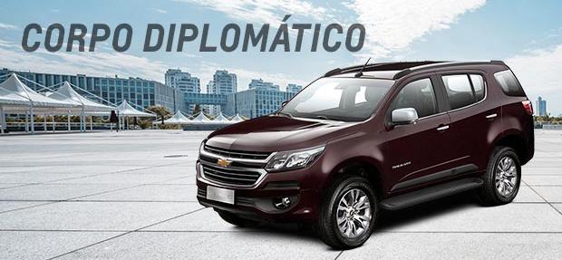 Comprar carros com desconto para Corpo Diplomático é na Chevrolet