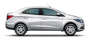 Tudo é novidade no Chevrolet Prisma: novo design, novos motores, novo conceito. Um carro que alia o espaço de um sedan para a família, como o porta-malas de 500 litros, e o visual ousado de um esportivo. Repleto de itens de conforto, ele ainda tem o sistema Chevrolet MyLink, um incrível sistema de entretenimento para você se divertir e ficar conectado. E, para impulsionar tudo isso, nada como a nova geração de motores flex de 1.0 e 1.4 L. Mas as novidades não param por aqui.