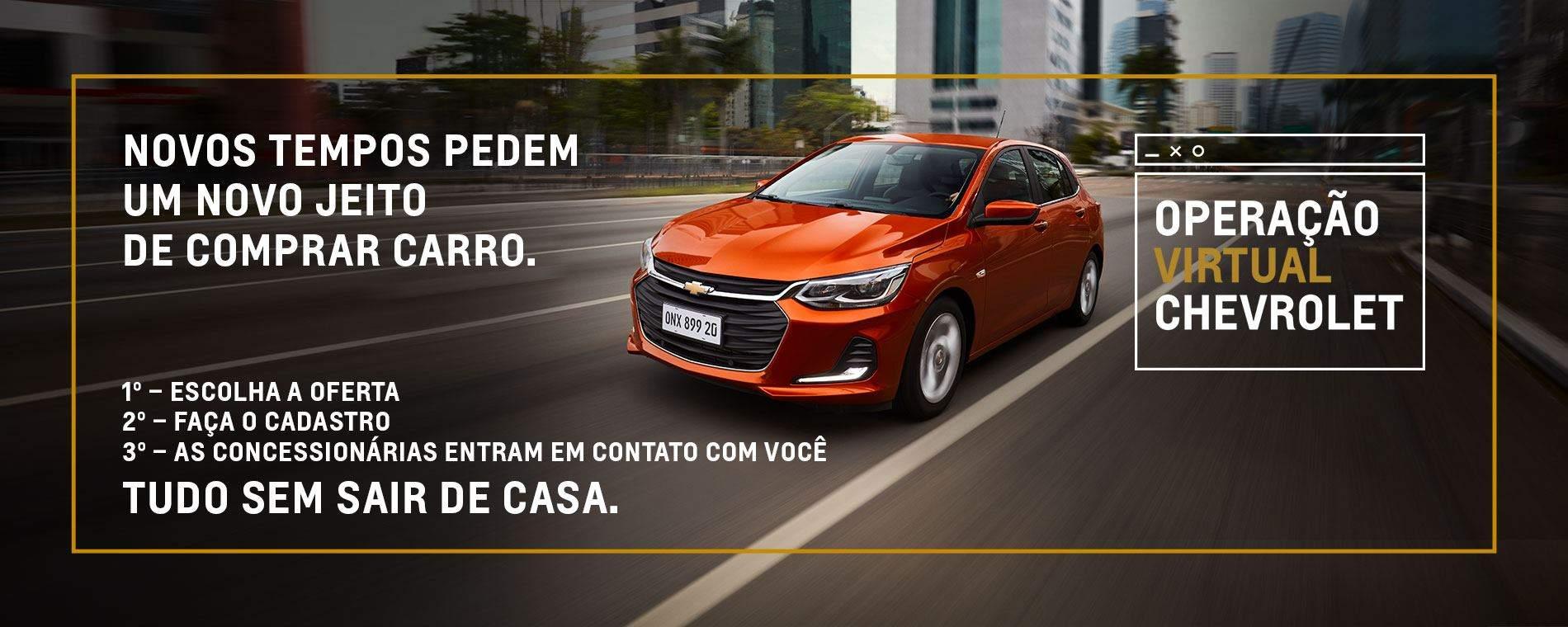 Operação Virtual Chevrolet