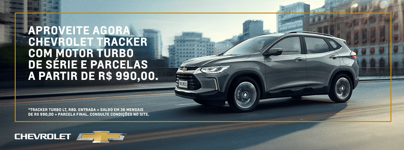 Ofertas do novo SUV Chevrolet Tracker