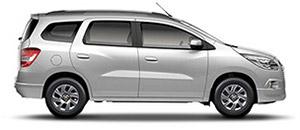 O Chevrolet Spin é a minivan ideal para você e sua família, com opção de 5 e 7 lugares. O conforto, versatilidade e generoso espaço de carga são características indispensáveis para quem procura aventura no dia a dia.